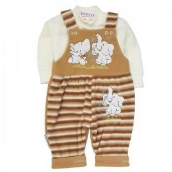 Costum din fleece moale și pufos SA 7792