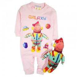 Costum salopetă și jucărie SA 8731