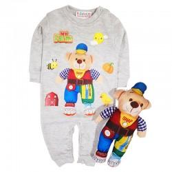 Costum salopetă și jucărie SA 8732
