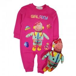 Costum salopetă și jucărie SA 8733