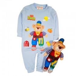 Costum salopetă și jucărie SA 8734