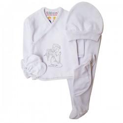 Costum alb 5 piese SA 4917