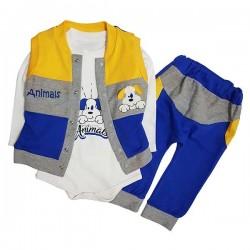 Costum albastru 3 piese SA 5335