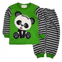 Pijama verde P 348