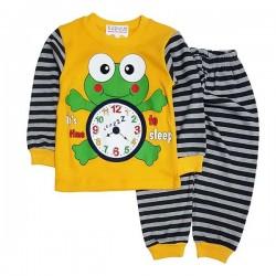 Pijama galbenă P 350