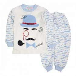 Pijama albă P 353