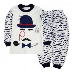 Pijama albă P 354