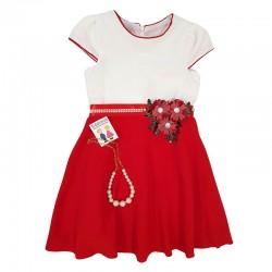 Rochie și colier cu perle acrilice E 527