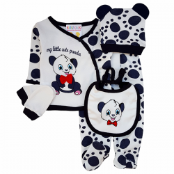 Costum panda 5 piese SA 2566