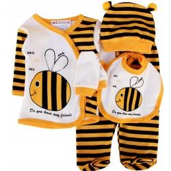 Costum albinuță 5 piese  SA 2562