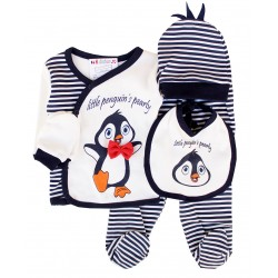 Costum pinguin 5 piese SA 2563